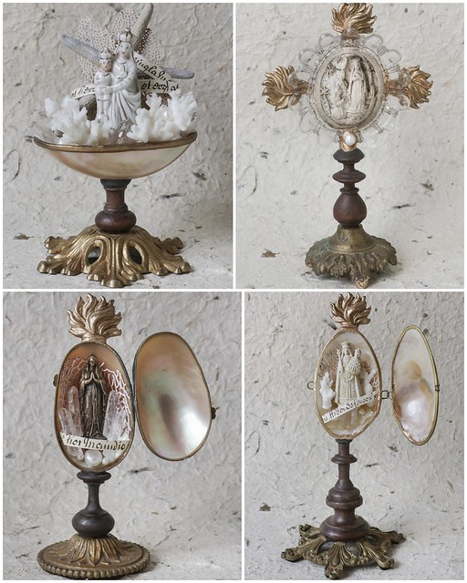 4 reliquary object d'art listed on Etsy
