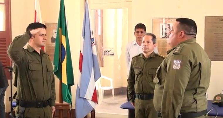 Troca de comando e condecorações na Polícia Militar em Óbidos, TROCA DE COMANDO