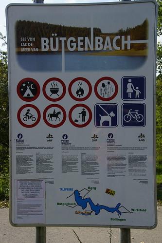 Wandeltocht Bütgenbach in de Eifel België 23-09-2017