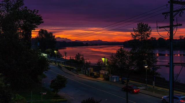 First good sunrise of the season.