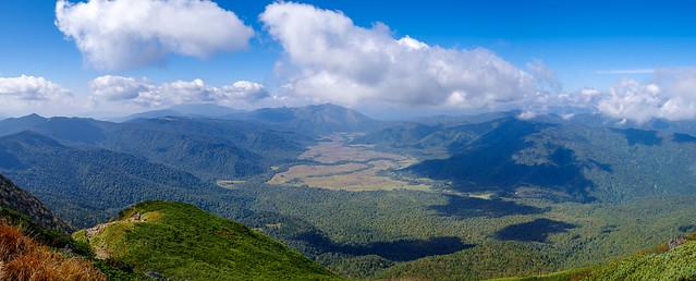柴安嵓山頂からの展望