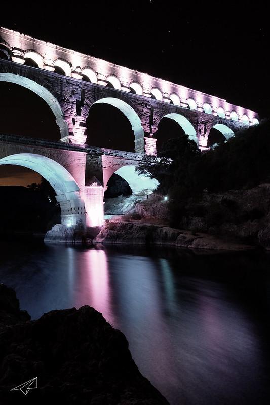 De l'eau qui coule sous le pont...