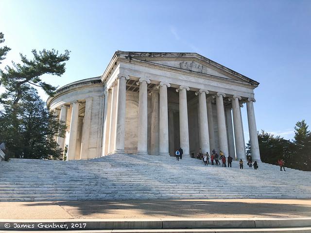 Jefferson Memorial on a November Morning