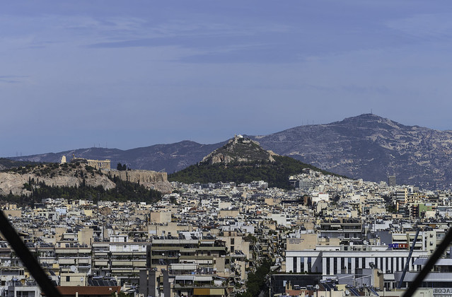 St George Lycabettus and Acropolis