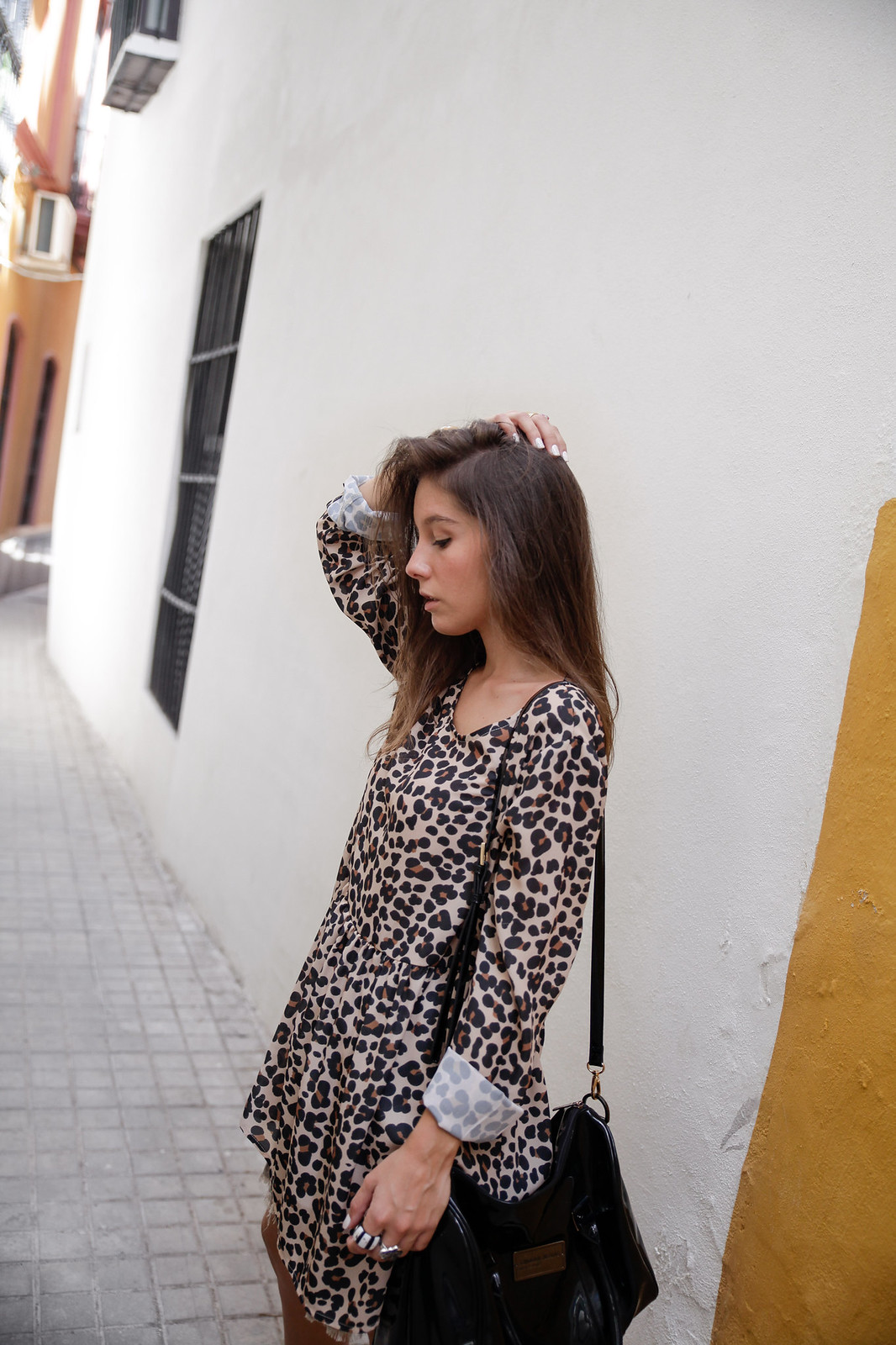 theguestgirl leopard dress rüga animal print shop online