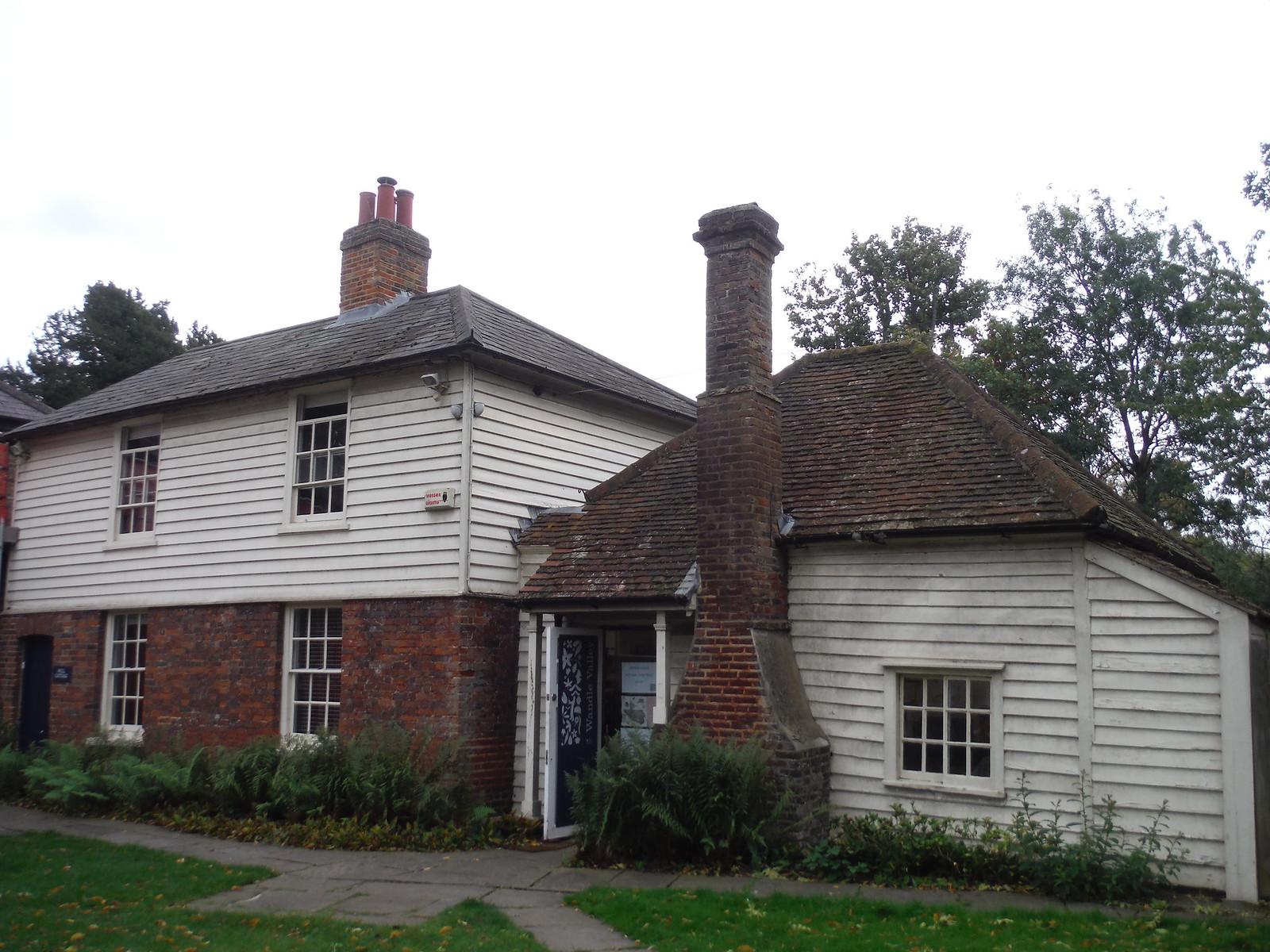 Snuff Mill Cottage, Morden Hall Park SWC Walk Short 13 - Morden Hall Park and Merton Abbey Mills