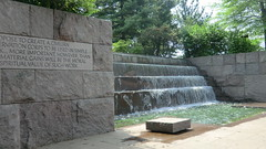 Washington D.C.: The Franklin Delano Roosevelt Memorial @ West Potomac Park