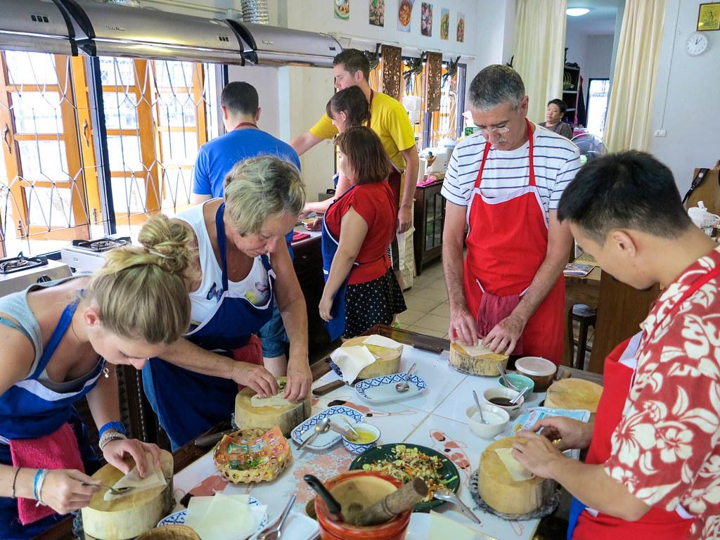 Curso de cocina en Chiang Mai
