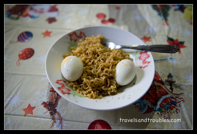 Pancit Canton als ontbijt