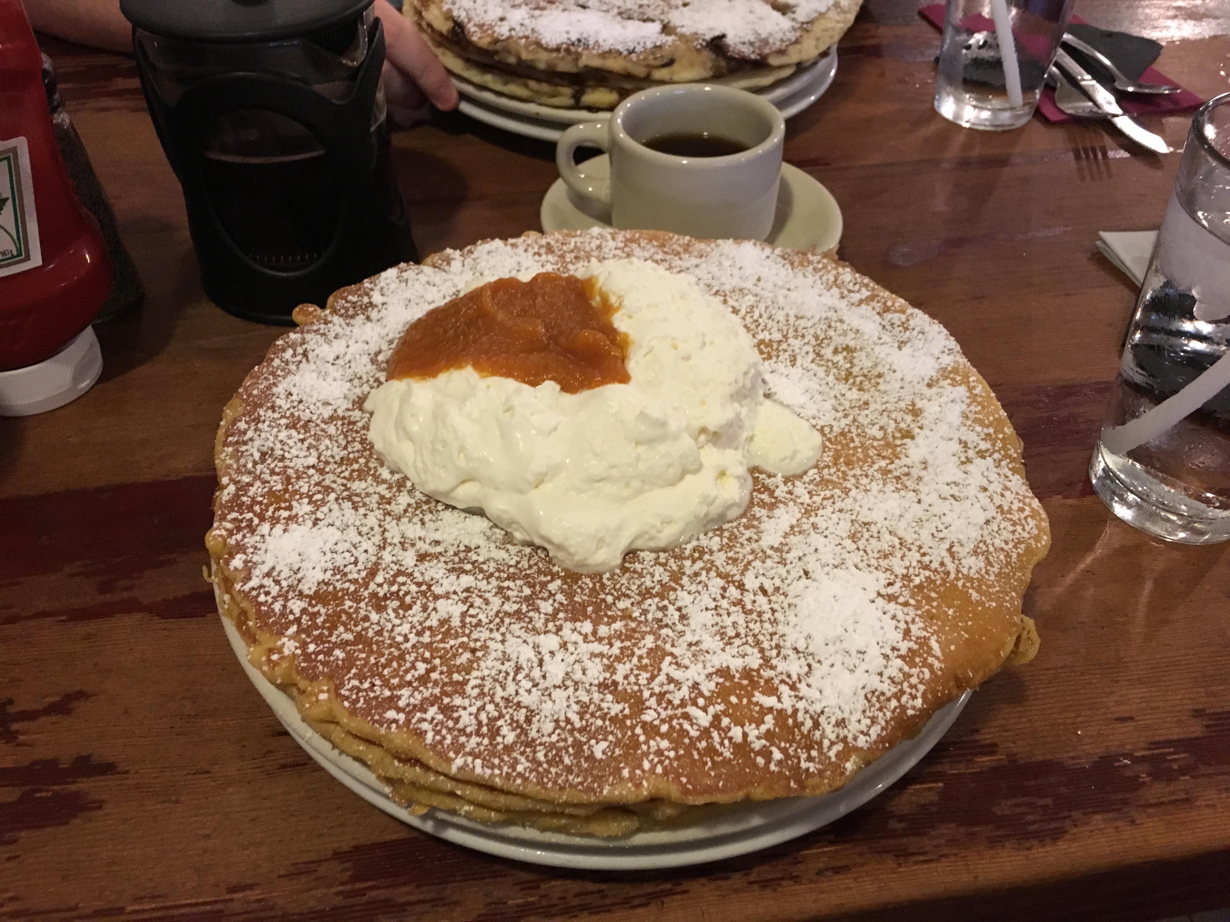 Los Angeles Food - pumpkin pancakes