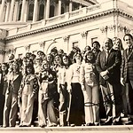 1977 AHS class trip to Washington DC Tom Harkin right front
