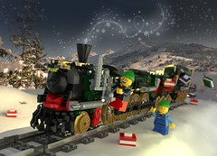 Lego Train Gifts Delivery