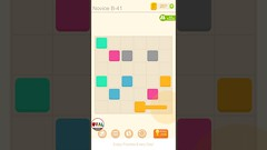 Puzzledom CONNECT Level 41 to 50 Game Novice B Complete Lines In Mutiple Colours Gameplay   OVAL