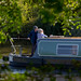 Narrowboat on the Trent