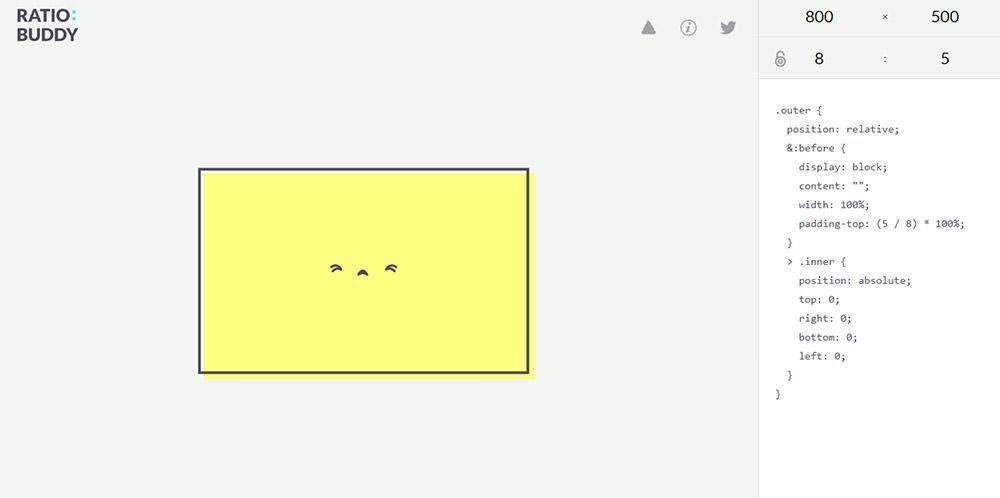 Công cụ RatioBuddy giúp bạn tính tỉ lệ hình ảnh đơn giản hơn