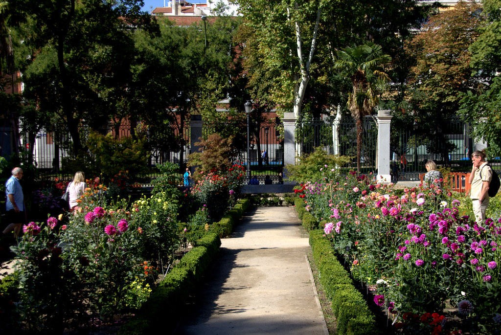 Octubre de 2017 en el Jardín Botánico de Madrid