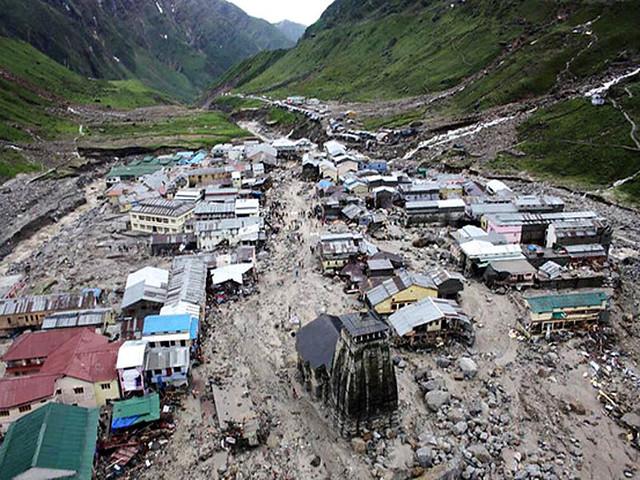 2013 में केदारनाथ में आई तबाही
