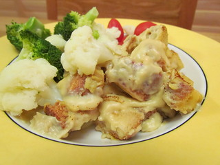 Welsh Rarebit Casserole