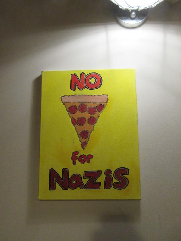 Pizza Delicious: No Pizza for Nazis