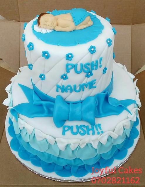 Cake by Nsiiden Denis of Joyful Cakes
