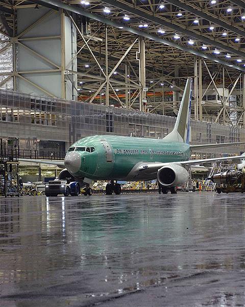 Boeing B737 produccion (Boeing)