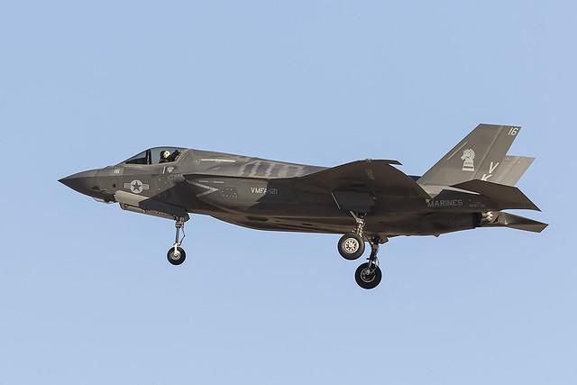 _31A6256 USMC F-35K VK-16 BuNo 168730