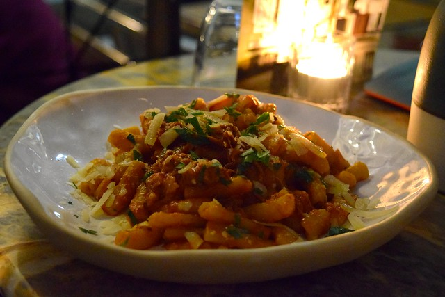 Homemade Pasta with Meat Sauce at Canova Hall, Brixton | www.rachelphipps.com @rachelphipps
