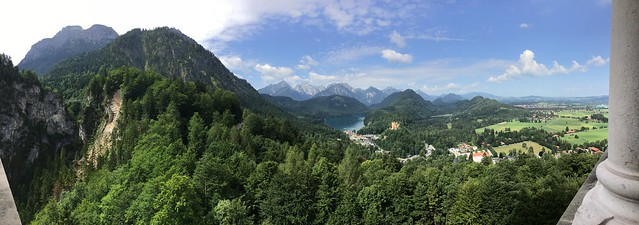 Alpsee from Neuschwanstein