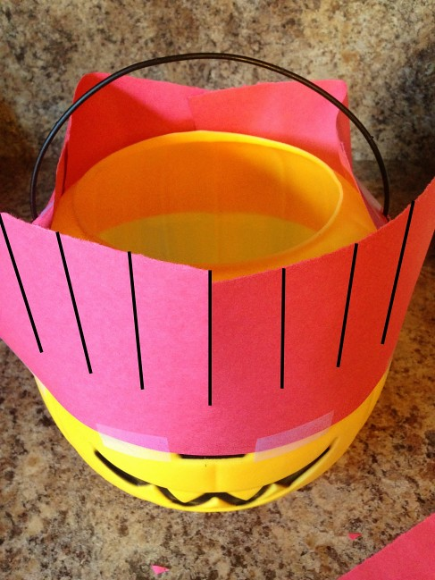 Halloween Pokeball Candy Bucket Tutorial