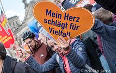 ...Gegen Hass und Rassismus im Bundestag...