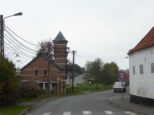 Ere.- Le colombier de la ferme du Château .
