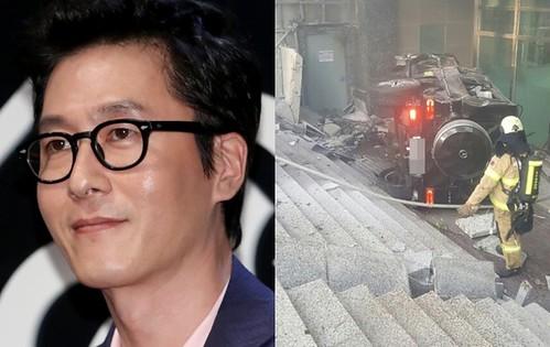 교통사고로 사망한 배우 김주혁<YONHAP NO-4467>