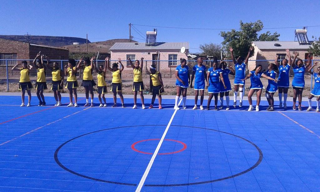 Noupoort Wind Plant unites the community through sport
