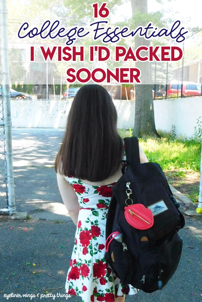 16 College Essentials I Wish I'd Packed Sooner - Things I forgot to pack for college - college packing list