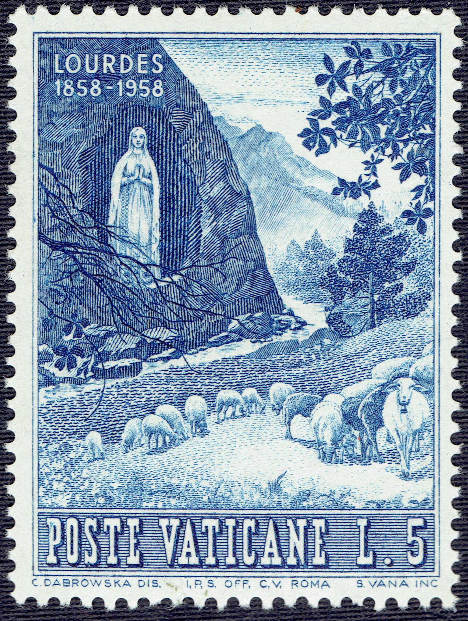Vatican City - Scott #233 (1958)