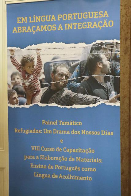 VIII Curso de Capacitação para a elaboração de materiais: ensino de português como língua de acolhimento