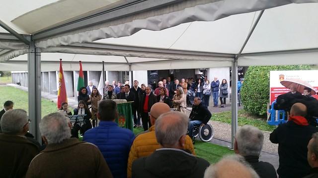 Inauguración do parque Ignacio Echeverría