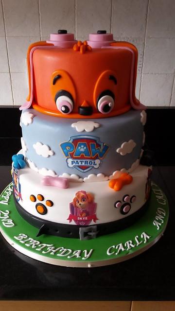 Paw Patrol Cake by M-c Cakes