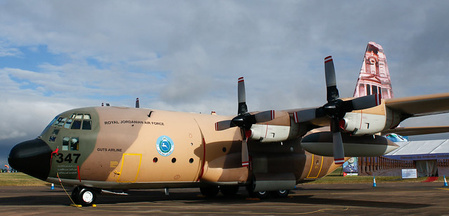 Lockheed Martin,C-130 Hercules,RIAT,RAF Fairford,Gloucestershire.