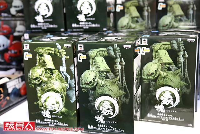 鋼普拉迷們千萬別錯過!【GUNDAM docks at TAIWAN】「限定商品販售區」現場報導