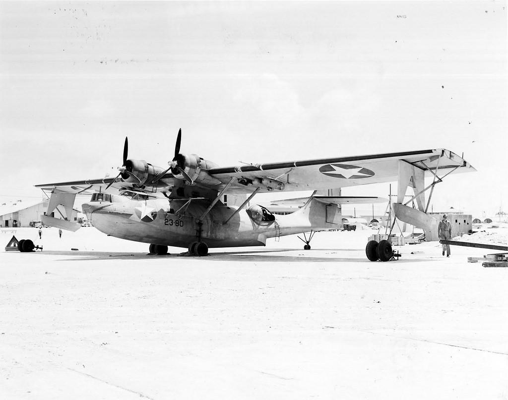 VP-23 PBY, Midway
