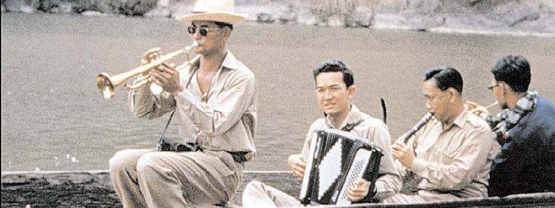 King Bhumibol and his jazz band