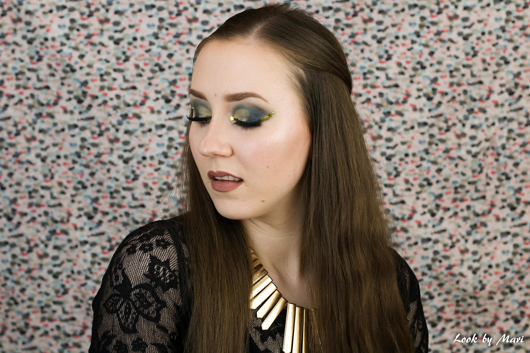 6 jeffree star cosmetics androgyny luomiväripaletti kokemuksia tutoriaali inspiraatio