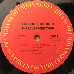 FREDDIE HUBBERD:THE LOVE CONNECTION(LABEL SIDE-B)