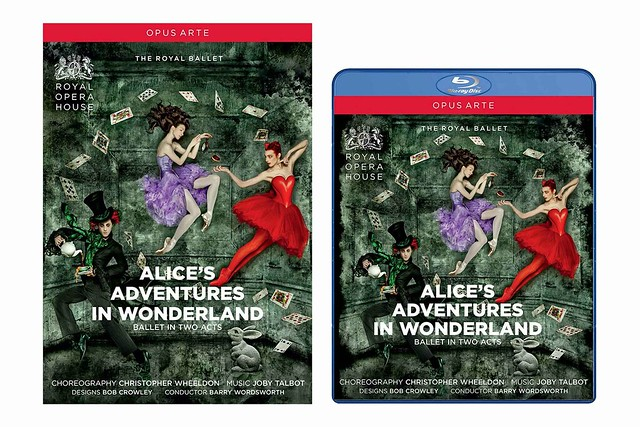 The Royal Ballet's Alice's Adventures in Wonderland on DVD and Blu-ray