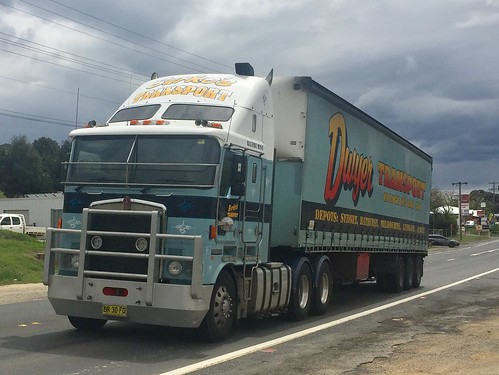 KENWORTH of Dwyer's at Lucknow, NSW