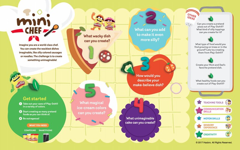 Creative Learning Toolkit - Mini Chef