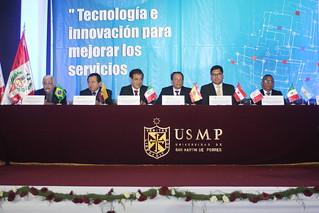 Facultad de Ingeniería y Arquitectura clausuró el XXII Congreso Internacional de Ingeniería, Ciencias Aeronáuticas y Arquiforo Visión 2017