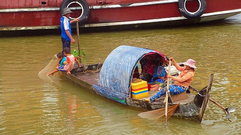 Mekong River Phnom Penh Cambodia