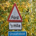 Small photo of Marsh Lane, Hampton-in-Arden - sign - Ford